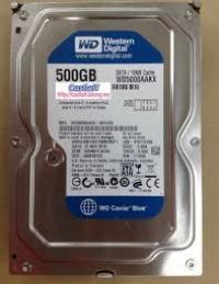 Ổ cứng Western Digital Caviar Blue 500GB - 7200rpm - 16MB Cache - 6Gb/s - SataII (WD5000AAKX)