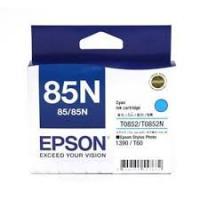 Mực Epson T0852N Cyan (85N) - Mầu Xanh - Dùng cho Stylus Photo R1390, T60