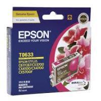 Mực in phun màu Epson T0633 - Mầu đỏ - Dùng cho Epson Stylus C67, C87, C87PE, CX4100, CX4700, CX3700