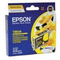 Mực in phun màu Epson T0634 - Mầu vàng - Dùng cho Epson Stylus C67, C87, C87PE, CX4100, CX4700, CX3700