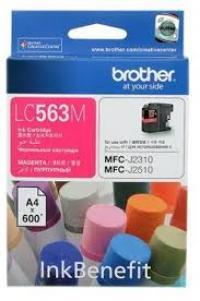 Mực in Phun màu Brother LC 563M (Magenta) - Màu đỏ - Dùng cho máy MFC-J2310, MFC-J2510