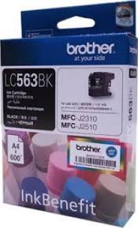 Mực in Phun màu Brother LC 563BK (Black) - Màu đen - Dùng cho máy MFC-J2310, MFC-J2510