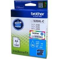 Mực in Phun màu Brother LC-535XL C (Cyan) - Màu xanh - Dùng cho máy DCP-J100/J105/MFC-J200 )