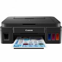 Máy in đa chức năng Canon Pixma G3000 Có gắn hệ thống chính hãng 04 màu mực (Print- Scan - Copy, Wifi) sử dụng mực liên tục chính hãng từ Canon