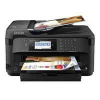 Máy in màu đa năng Epson Workforce 7710 (khổ A3 + In đảo mặt/ Copy/ Scan/ Fax/ WiFi)